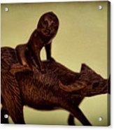 Creepy Things On The Mantel 5 Acrylic Print