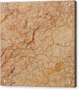 Crema Valencia Granite Acrylic Print
