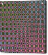Crepe Myrtle Abstract Acrylic Print