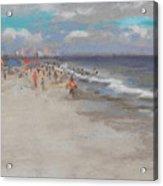 Crescent Beach, Myrtle Beach Acrylic Print