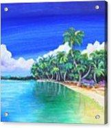 Crescent Beach Acrylic Print