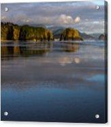 Crescent Beach Reflections Acrylic Print