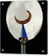 Crescent Full Moon Acrylic Print