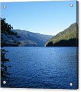Crescent Lake, Washington Acrylic Print