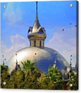 Crescent Of The Dome Acrylic Print