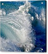 Cresting Wave Acrylic Print