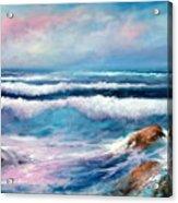 Cresting Waves Acrylic Print