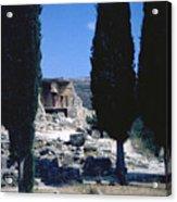 Crete Acrylic Print