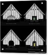 Crew Boathouse Elevations Acrylic Print