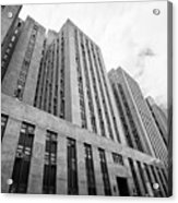 criminal courts building and tombs south building manhattan detention complex New York City USA Acrylic Print