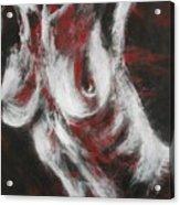 Crimson Red Acrylic Print