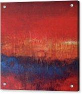 Crimson Sky Acrylic Print