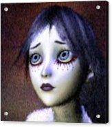 Crimson Tears Acrylic Print
