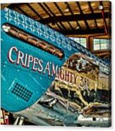 Cripes Almighty Acrylic Print