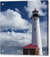 Crisp Point Lighthouse 7 Acrylic Print