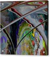 Crisscross Storm Acrylic Print
