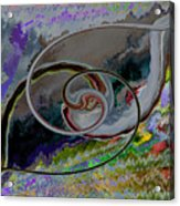 Crisscross Wishbone Acrylic Print