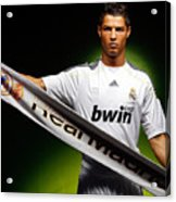 Cristiano Ronaldo Acrylic Print
