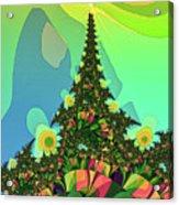Cristmas Tree 2 Acrylic Print