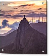 Cristo Redentor - Christ The Redeemer Acrylic Print