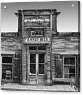 Criterion Hall Saloon -- Montana Territories Acrylic Print