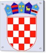 Croatia Coat Of Arms Acrylic Print
