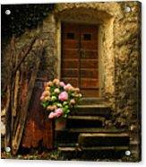 Croatian Stone House Acrylic Print by Don Wolf