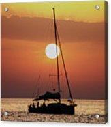 Croatian Sunset Acrylic Print