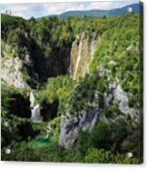 Croatias Wonders Acrylic Print