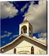 Crooked Creek Chapel Acrylic Print