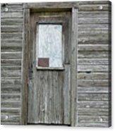 Crooked Door Acrylic Print