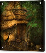 Crooked House Acrylic Print by Svetlana Sewell