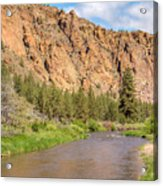 Crooked River II Acrylic Print