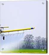 Too Close For Comfort - Crop Dusting 2 Of 2 Acrylic Print