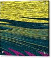 Crops Acrylic Print