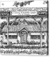 Crosby's Machine Shop Acrylic Print
