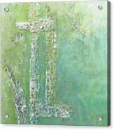 Cross And Fish  Acrylic Print