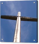 Cross At St. Augustine Acrylic Print