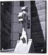 Cross At St. Johns Tralee Ireland Acrylic Print