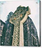 Cross Of Stone Acrylic Print