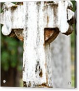 Cross Of Stone Acrylic Print