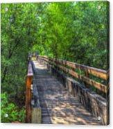 Cross Over The Bridge - Sedona Arizona Acrylic Print