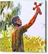 Cross To The Sky Acrylic Print