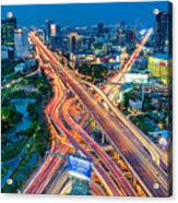 Cross Town Traffic Acrylic Print