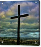 Cross Without Words Acrylic Print