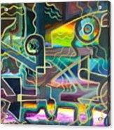 Crossfire Acrylic Print