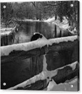 Crossing Cedar Creek Acrylic Print