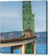 Crossing Columbia Acrylic Print