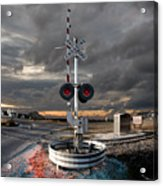 Crossing Guard Acrylic Print