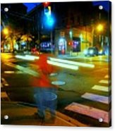 Crossing Pearl Acrylic Print